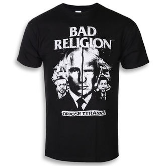tričko pánske Bad Religion - Oppose Tyranny - Black - KINGS ROAD, KINGS ROAD, Bad Religion