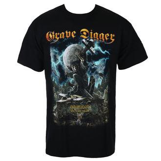 tričko pánske GRAVE DIGGER - EXHUMATION CLAN - JSR, Just Say Rock, Grave Digger