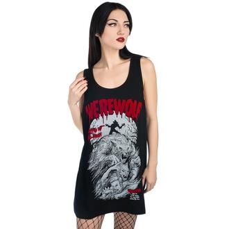 tielko unisex KILLSTAR - Werewolf - BLACK - KSRA001858