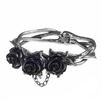 náramok ALCHEMY GOTHIC - Wild Black Rose, ALCHEMY GOTHIC