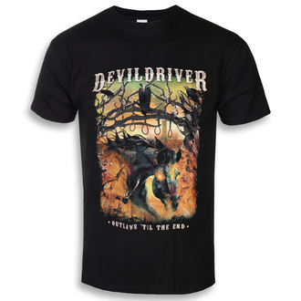 tričko pánske DEVILDRIVER - Outlaws Til The End - NAPALM RECORDS, NAPALM RECORDS, Devildriver