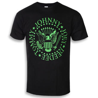 tričko pánske Ramones - Green Seal - ROCK OFF, ROCK OFF, Ramones
