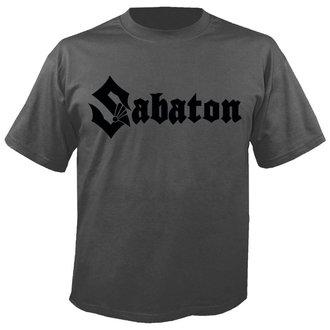 tričko pánske SABATON - Logo GREY - NUCLEAR BLAST, NUCLEAR BLAST, Sabaton