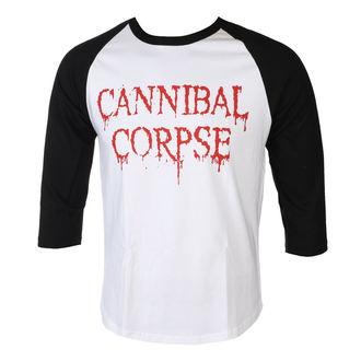 tričko pánske s 3/4 rukávom CANNIBAL CORPSE - DRIPPING LOGO - PLASTIC HEAD, PLASTIC HEAD, Cannibal Corpse