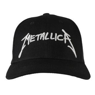 šiltovka Metallica - Garage - Silver Logo Black, NNM, Metallica