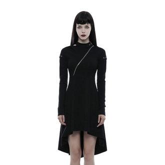 šaty dámske PUNK RAVE - Tech Noir - OPQ-236/BK