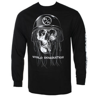 tričko pánske s dlhým rukávom METAL MULISHA - UNDEAD BLK, METAL MULISHA