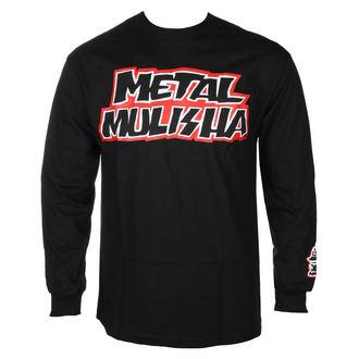 tričko pánske s dlhým rukávom METAL MULISHA - STICK  BLK, METAL MULISHA