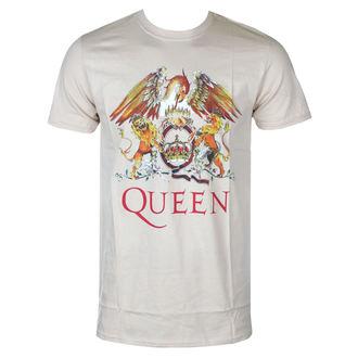 tričko pánske Queen - Classic Crest - ROCK OFF, ROCK OFF, Queen