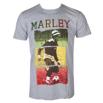 tričko pánske Bob Marley Football Text - ROCK OFF, ROCK OFF, Bob Marley