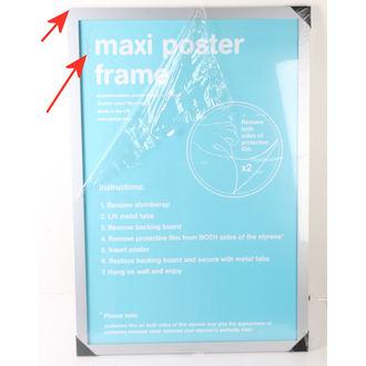 rám na plagát (61x91,5 cm) - Silver - GB Posters - POŠKODENÝ, GB posters