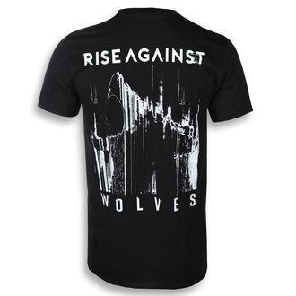 tričko pánske Rise Against - Wolves Pocket - Black - KINGS ROAD, KINGS ROAD, Rise Against
