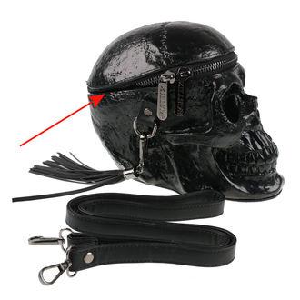 taška (kabelka) KILLSTAR - Grave Digger Skull - Black - POŠKODENÁ, KILLSTAR