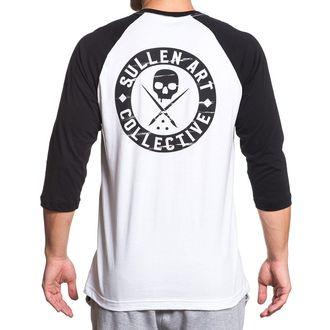 tričko pánske s 3/4 rukávom SULLEN - BOH RAGLAN - WHITE / BLACK, SULLEN