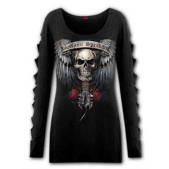 tričko dámske s dlhým rukávom SPIRAL - UNSPOKEN, SPIRAL