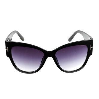okuliare slnečné dámske JEWELRY & WATCHES - Cat - Black, JEWELRY & WATCHES