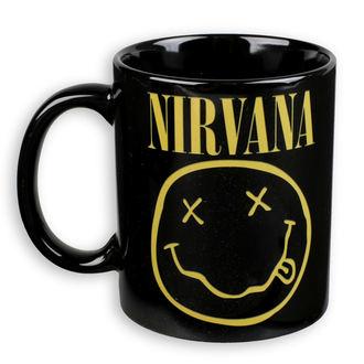 hrnček Nirvana - ROCK OFF, ROCK OFF, Nirvana