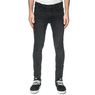 nohavice pánske (jeans) GLOBE - G.04 Skinny - Poraziť Down Black, GLOBE