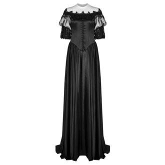 šaty dámske (svadobné, plesové) PUNK RAVE - Black Ruby Gothic, PUNK RAVE