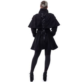 kabát dámsky Poizen Industries - GHOST TOWN - BLACK, POIZEN INDUSTRIES