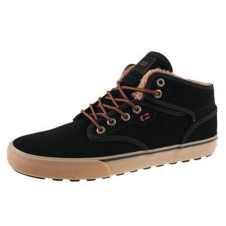 topánky pánske zimný GLOBE - Motley Mid - Black / Gum / Fur, GLOBE