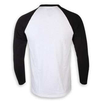 tričko pánske s dlhým rukávom Johnny Cash - I Like Cash White & BL - ROCK OFF, ROCK OFF, Johnny Cash