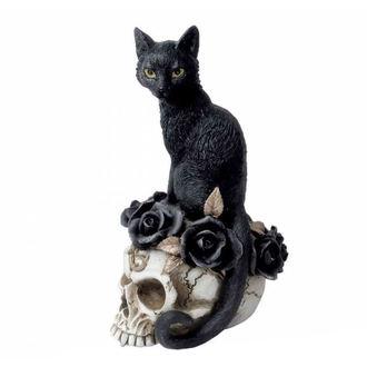 dekorácia ALCHEMY GOTHIC - Black Cat & Skull, ALCHEMY GOTHIC