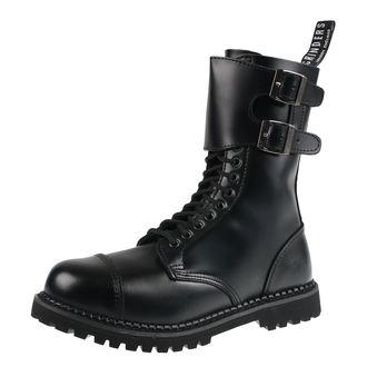 topánky GRINDERS - CAMELOT - BLACK, GRINDERS