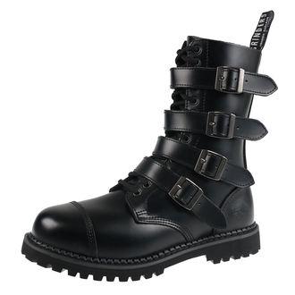 topánky GRINDERS - QUAD - BLACK, GRINDERS