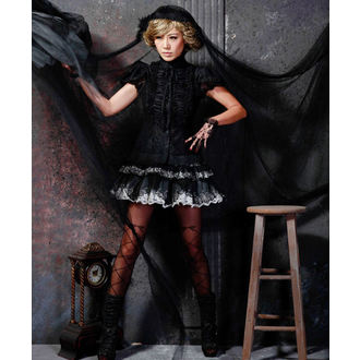 blúzka dámska PUNK RAVE - Cynthia black, PUNK RAVE