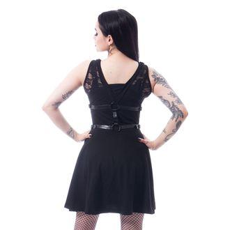 šaty dámske POIZEN INDUSTRIES - BLACK, POIZEN INDUSTRIES