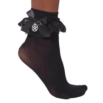 ponožky KILLSTAR - Hextra - BLACK - KSRA001894