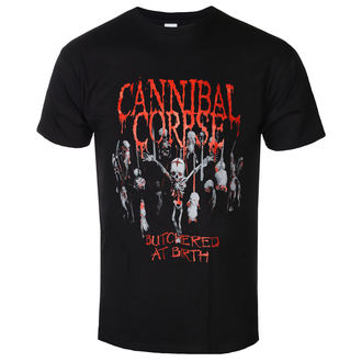 tričko pánske Cannibal Corpse - Butchered At Birth - PLASTIC HEAD, PLASTIC HEAD, Cannibal Corpse