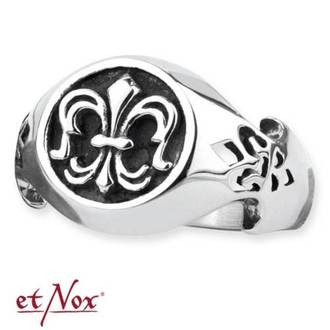 prsteň ETNOX - Steel Lily, ETNOX