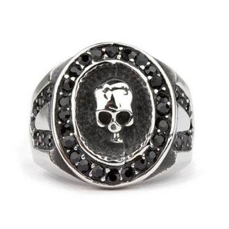 prsteň ETNOX - Crystal Skull, ETNOX