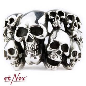 prsteň ETNOX - Skulls, ETNOX