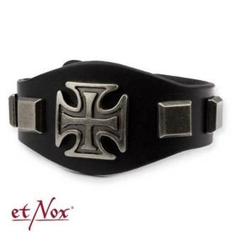 náramok ETNOX - Iron Cross and Studs, ETNOX