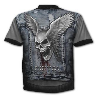 tričko pánske SPIRAL - THRASH METAL - Allover, SPIRAL