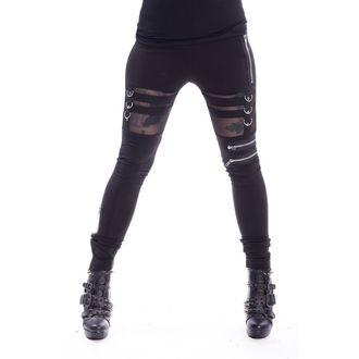 nohavice dámske (legíny) Chemical Black - INKA - BLACK, CHEMICAL BLACK