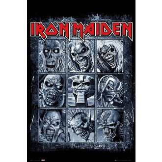 plagát IRON MAIDEN - GB posters, GB posters, Iron Maiden