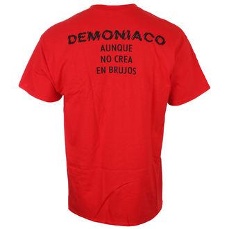 tričko pánske BRUJERIA - DEMONIACO - AUNQUE NO Crean / RED - JSR, Just Say Rock, Brujeria