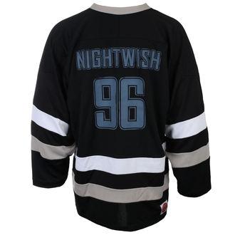 tričko pánske s dlhým rukávom (dres) NIGHTWISH - OWL- LOGO 96 BLK/WHT - JSR, Just Say Rock, Nightwish