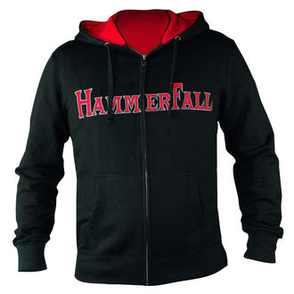 mikina dámska sa zipsom Hammerfall - Hammered DELUXE Girlie ZIP HOOD - HSW - 157995, NUCLEAR BLAST, Hammerfall