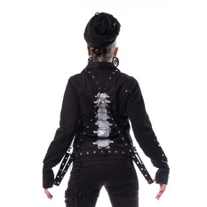 bunda dámska Heartless - JULIA JACKET - BLACK, HEARTLESS