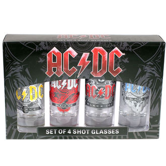 panáky (sada) AC/DC, AC-DC