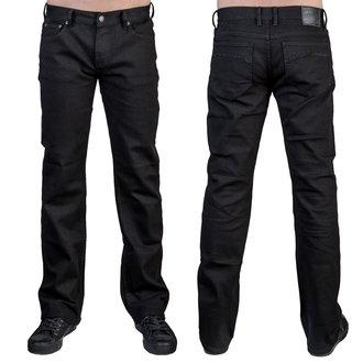 nohavice pánske (jeans) WORNSTAR - Essentials - Trailblazer Black Denim, WORNSTAR