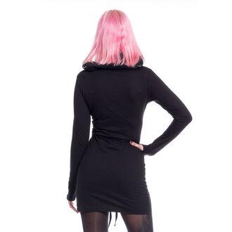 šaty dámske Poizen Industries - LAST FAITH - BLACK, POIZEN INDUSTRIES