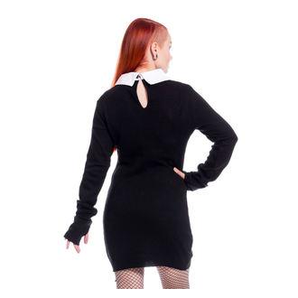 šaty dámske Poizen Industries - LATE WEDNESDAY - BLACK, POIZEN INDUSTRIES