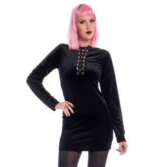šaty dámske CHEMICAL BLACK - LEAH - BLACK, CHEMICAL BLACK