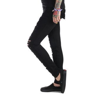 nohavice dámske (jeans) PUNK RAVE - Destroyer - K-134